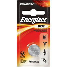Energizer Watch Battery 1632 3V