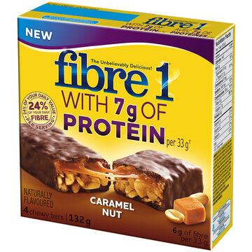 Fibre 1 Bars - Caramel Nut - 132g/4 pack
