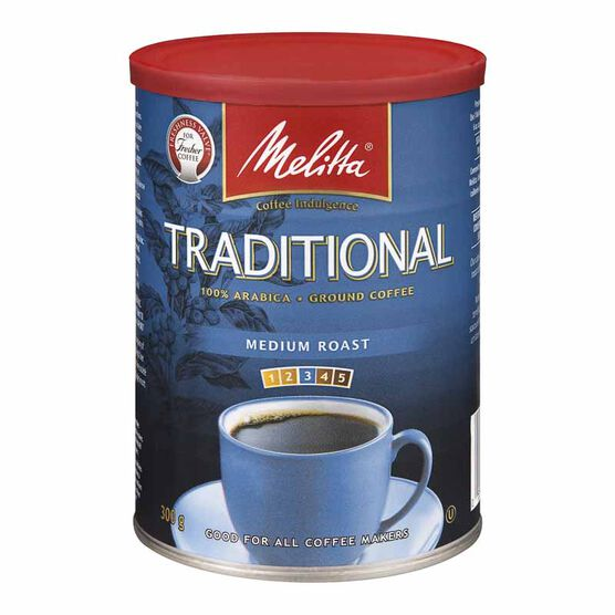 Melitta Roast & Ground Coffee - Traditional Extra Fine - 300g