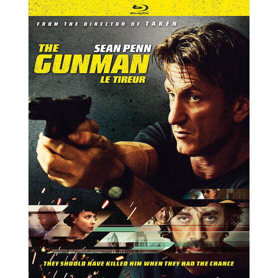 The Gunman - Blu-ray