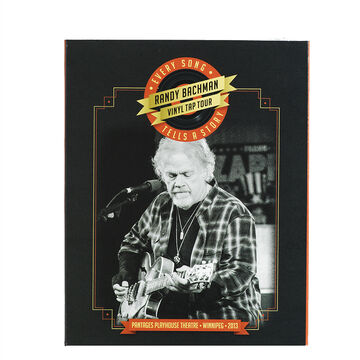 Randy Bachman - Vinyl Tap Tour: Every Song Tells a Story - Blu-ray