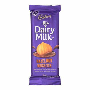 Cadbury Bar - Hazelnut - 100g