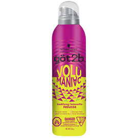 got2b VoluManiac Bodifying Mousse - 226g