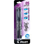 Pilot FriXion Point 0.5mm Erasable Refillable Pens - Black Ink - 2 pack