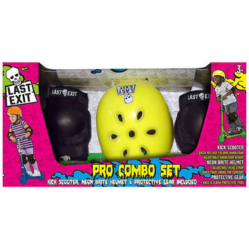 Last Exit Scooter Pro Combo Set - Yellow