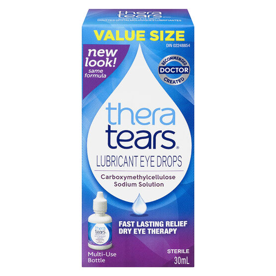TheraTears Lubricating Eye Drops - 30ml