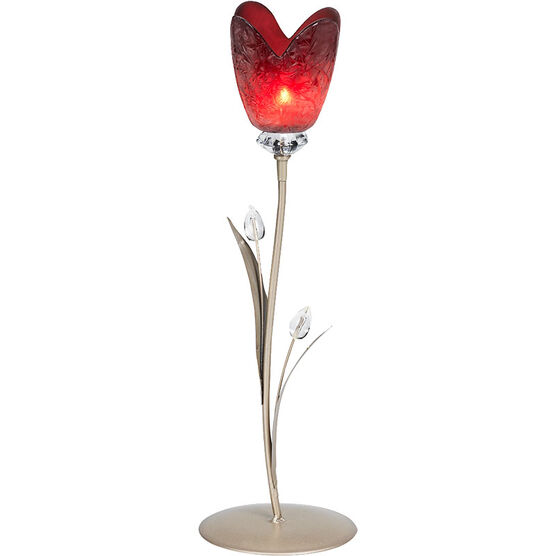 London Drugs Glass Tulip Candle Holder - 1 Tulip