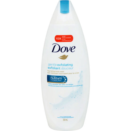 Dove Gentle Exfoliating Body Wash - 354ml