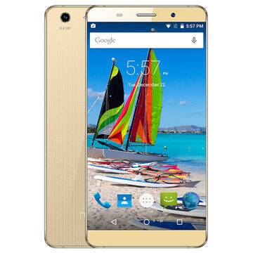 Maxwest Astro X55 Unlocked Smartphone - Gold - ASTROX55