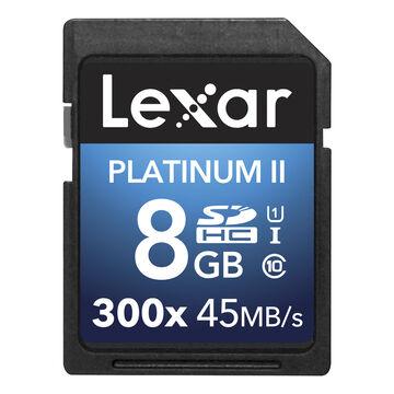 Lexar Platinum II 300X SDHC - 8GB - LSD8GBBNL300