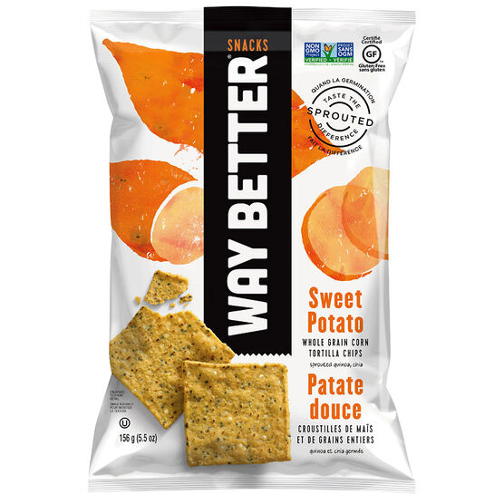 Way Better Snacks - Sweet Potato - 156g