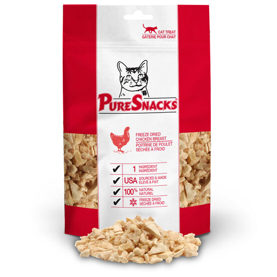 PureSnacks Cats Treats - Chicken Breast - 15g