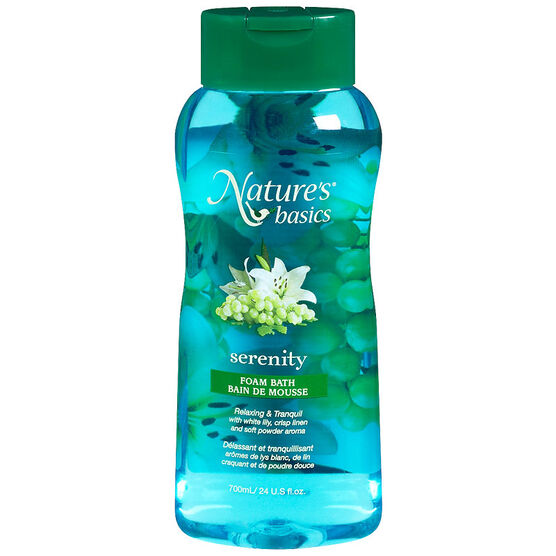 Nature's Basics Foam Bath - Serenity - 700ml