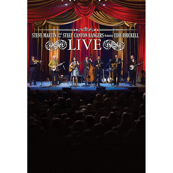 Steve Martin and the Steep Canyon Rangers featuring Edie Brickell: Live - DVD