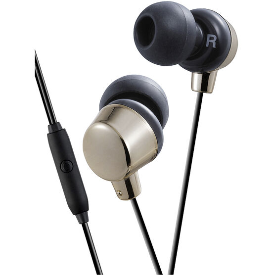 JVC In Ear Headphones - Gold - HAFR41N