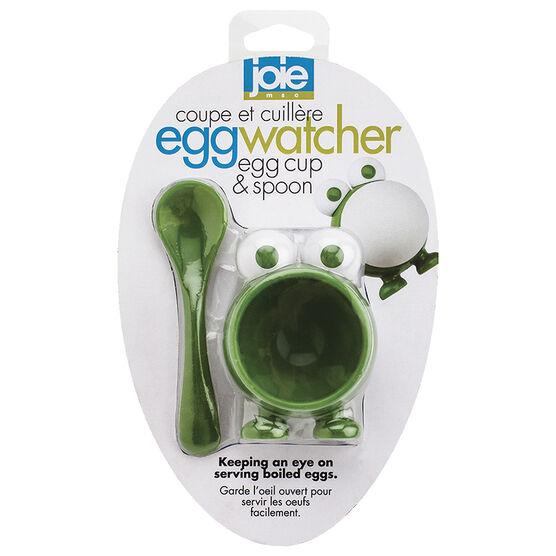 Joie MSC Watcher Egg Cup & Spoon - Assorted