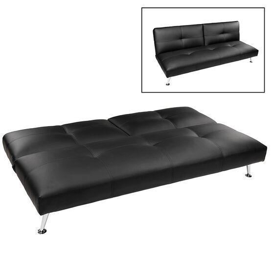 London Drugs Polyurethane Sofa Bed - Black