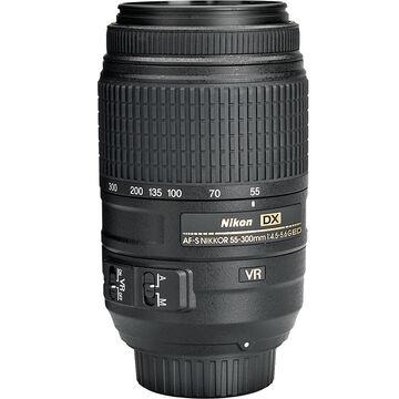 Nikon AF-S DX 55-300mm f/4.5-5.6G ED VR Lens