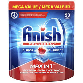 Finish Powerball Max in 1 Dishwashing Detergent - 90's