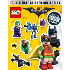Ultimate Sticker Collection The Lego Batman Movie