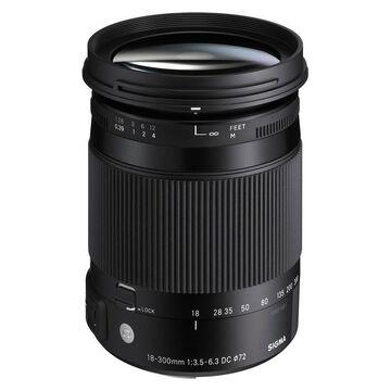 Sigma C 18-300mm F3.5-6.3 DC OS for Nikon - COS18300N