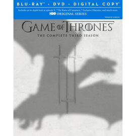 Game Of Thrones: The Complete Third Season - Blu-ray + DVD + Digital Copy