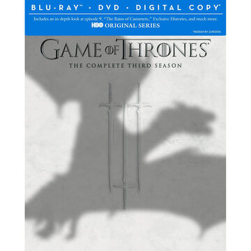 Game Of Thrones: The Complete Third Season - Blu-ray + DVD + Digital Copy