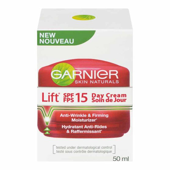 Garnier Skin Naturals Lift Anti-Wrinkle Firming Day Cream - SPF 15 - 50ml