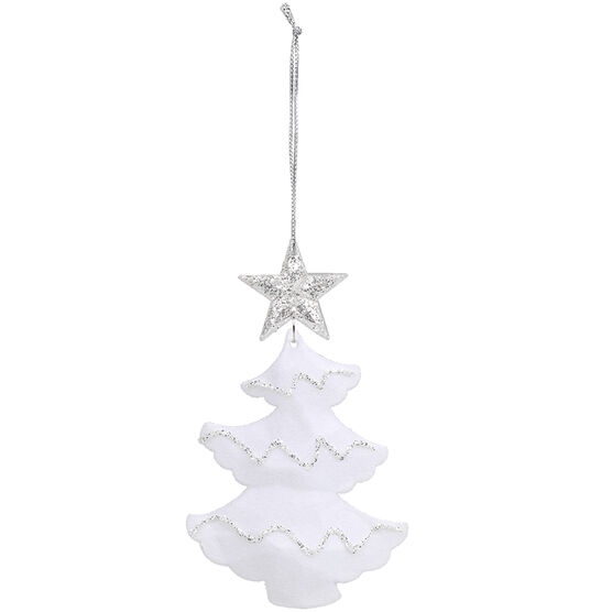 Winter Wishes Acrylic Tree Ornament - 4.7in - XLD6002951FOB