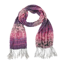 Star & Rose Paisley Scarf - Assorted