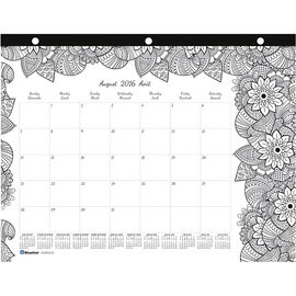 Blueline Monthly Desk Pad - Medium