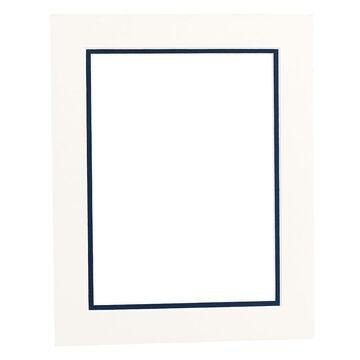Tempo 8x10 Mat Frame - Chantilly/Mid-Blue