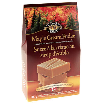 L.B. Maple Cream Fudge - 200g