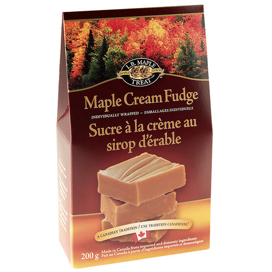 L.B. Maple Cream Fudge - 200g