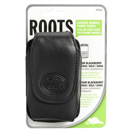 Roots BlackBerry 8300 Case - RPDA8 - Black