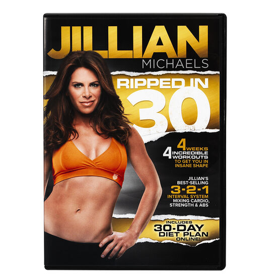 Jillian Michaels Ripped In 30 - DVD