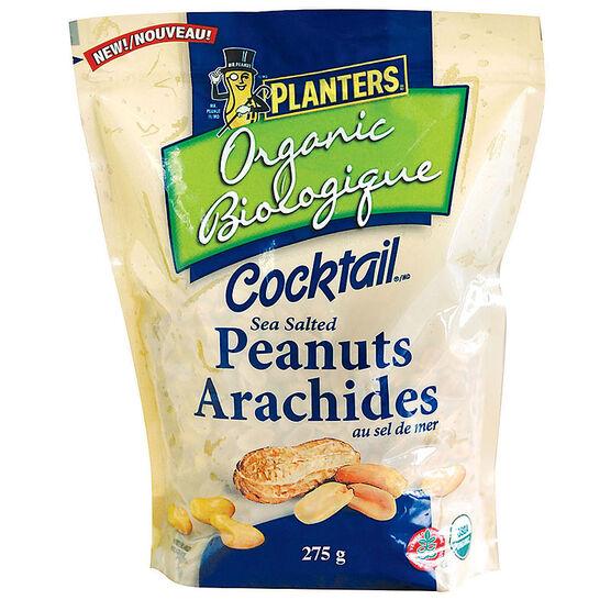 Planters Organic Cocktail Peanuts - 275g