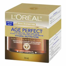 L'Oreal Age Perfect Hydra-Nutrition Golden Balm Night - 50ml