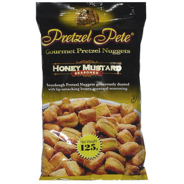 Pretzel Pete Gourmet Pretzel Nuggets - Honey Mustard - 125g