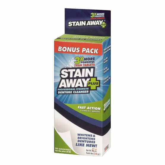 Something Denture cleaner removes anal stains abstract thinking