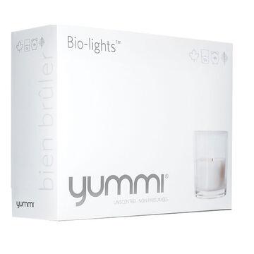Yummi Biolight Candle - Natural - 12 pack