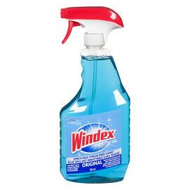 Windex Trigger Blue Glass Cleaner - Original - 765ml