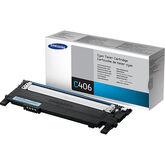 Samsung Toner Cartridge - Cyan - CLT-C406S/XAA