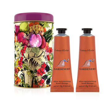 Crabtree & Evelyn Hand Therapy Ornament Tin - Gardeners - 2x25g