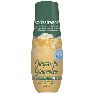 SodaStream Syrup - Ginger Ale - 440ml