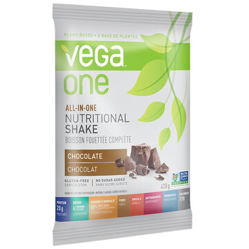 Vega One All in One Nutritional Shake - Chocolate - 43.8g