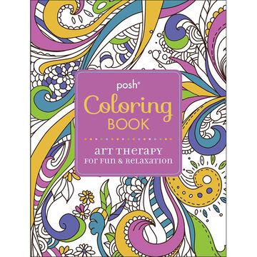 Posh Coloring Book - Art Therapy