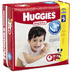 Huggies Snug & Dry Diapers - Size 4 - 29's