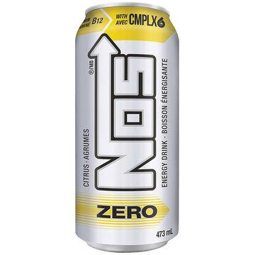 NOS Energy Drink - Cirtus Zero - 473ml