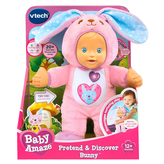 Baby Amaze Pretend and Discover Bunny